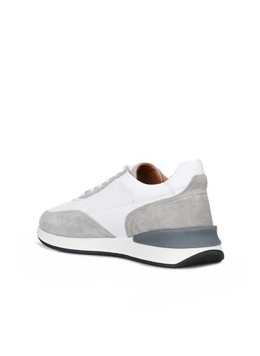 Divarese Divarese 5025345 Garnili Delik Detaylı Erkek Sneaker Beyaz